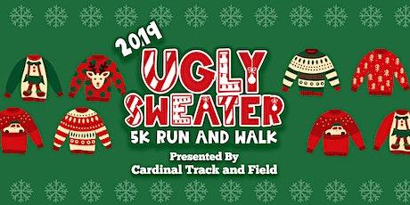 Cardinal Huskies Ugly Sweater Dash, 5k Run and Walk tickets