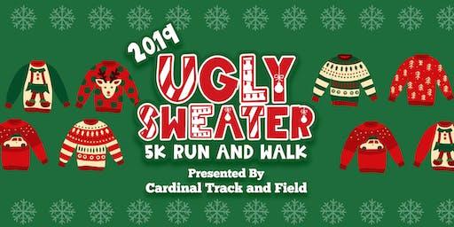 Cardinal Huskies Ugly Sweater Dash, 5k Run and Walk