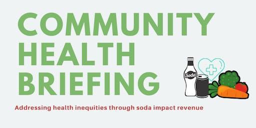 Community Health Briefing |  Información de Salud Comunitaria