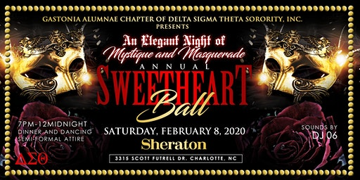 Gastonia Alumnae Chapter of DST Annual Sweetheart Ball