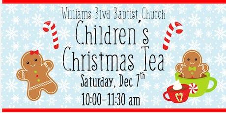 Christmas Children's Tea at Williams Blvd tickets