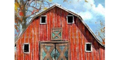 Acrylic Painting with Cathy Dykstra - Barn Scene  (2020-01-07 starts at 2:00 PM)