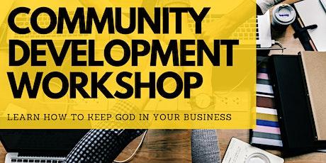 Community Development Workshop tickets