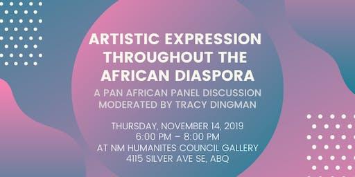 Artistic Expression Through the African Diaspora Panel Discussion