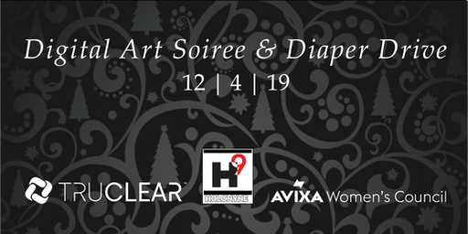 AWC SoCal Event - Digital Art Soiree & Diaper Drive hosted by TruClear