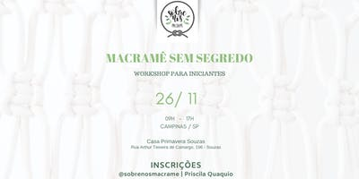 Macramê sem Segredo - Workshop para Iniciantes
