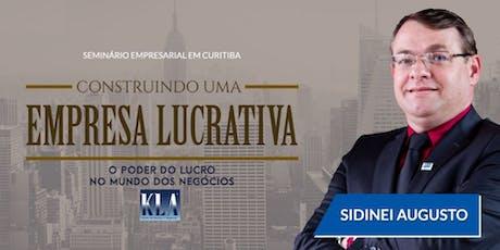 SEMINÁRIO - CONSTRUINDO UMA EMPRESA LUCRATIVA - ingressos