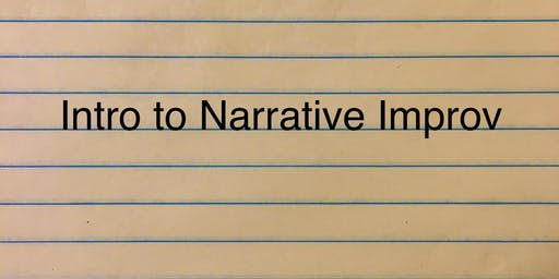 Introduction to Narrative Improv