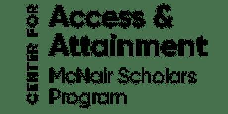 McNair Alumni Dinner tickets