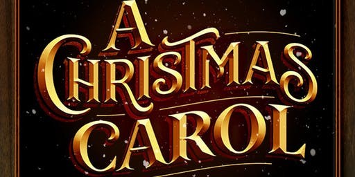 A Staged Production of A Christmas Carol by Theatre on The Road