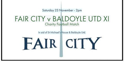 RTE's FAIR CITY v BALDOYLE UTD. FC  XI  - Charity