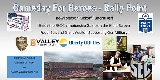 Gameday For Heroes Rally Point - Bowl Kickoff Fundraising Event