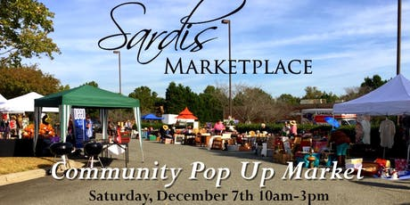 Free Community Pop Up Market tickets
