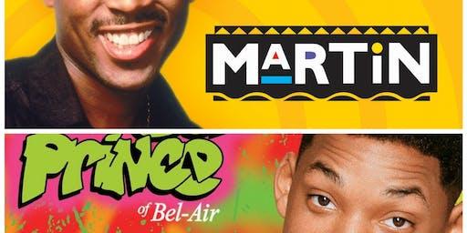 Martin × Fresh Prince of Bel Air Paint × Trivia Night.
