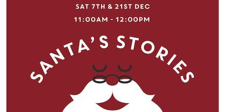 Santa's Stories at Duke Street Market tickets