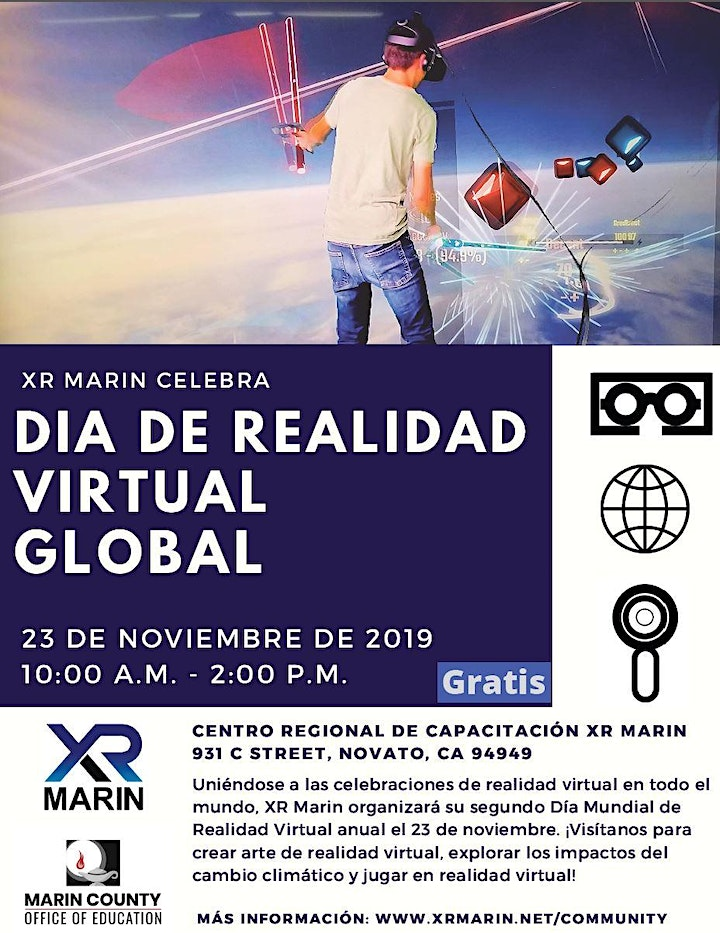 Global Virtual Reality Day at XR Marin image
