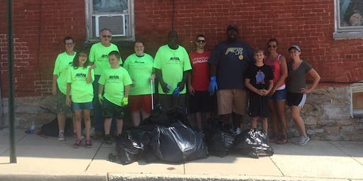 Adopt A Block - Downtown Street Cleanup