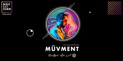 Silent Disco Vibe | Wireless Headphone Party  | MÜVMENT