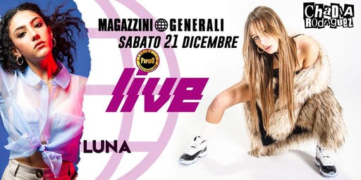 Chadia Rodriquez at Magazzini Generali / Milano - 21 Dicembre 2019