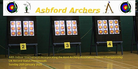 Ashford Archers 44th Indoor Tournament  Incorporating the KAA Championship tickets