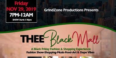 Thee Black Mall Pop Up Shop & Fashion Show