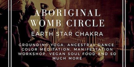 Aboriginal Womb Circle: Earth Star Chakra