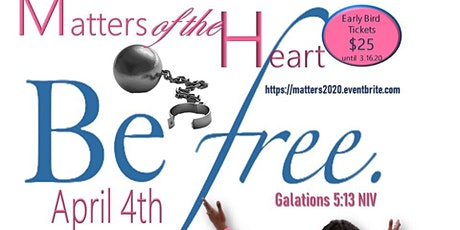 Matters of the Heart 2020 tickets