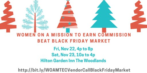 WOAMTEC Beat Black Friday Market - VENDOR CALL