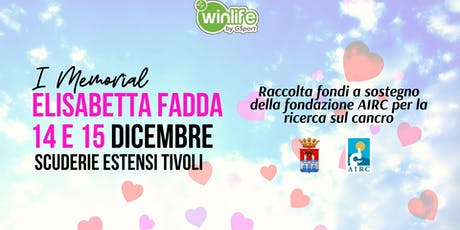 I° Memorial Elisabetta Fadda biglietti