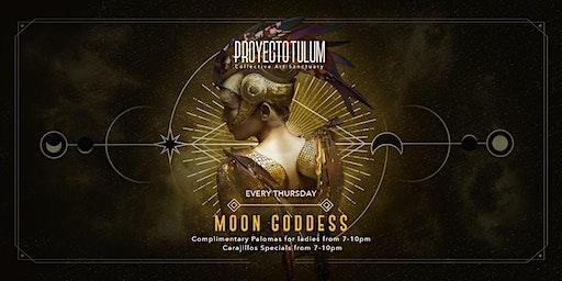 Proyecto Tulum Presents Moon Goddess