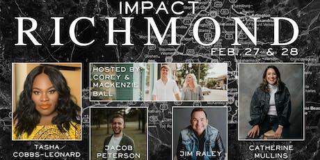 Impact Richmond Feat. Tasha Cobbs-Leonard & More tickets