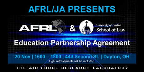 UD School of Law and AFRL Educational Partnership Celebration tickets