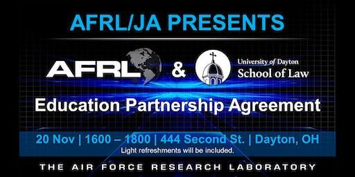 UD School of Law and AFRL Educational Partnership Celebration