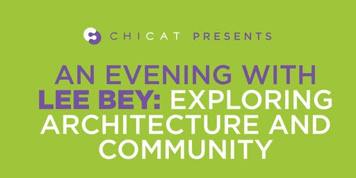 An Evening with Lee Bey:  Architecture and Community