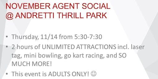 KW Agent Social @ Andretti Thrill Park