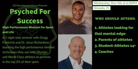 Psyched for Success- High Performance Mindset for Sport and Life tickets