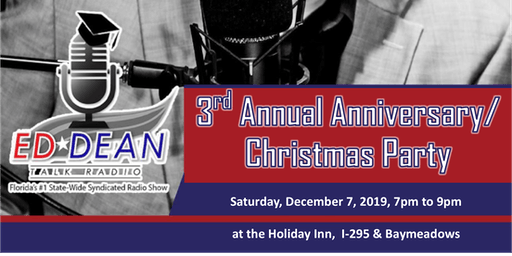 Ed Dean Radio Show 3rd Annual Christmas Party