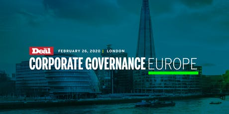 Corporate Governance Europe 2020 tickets