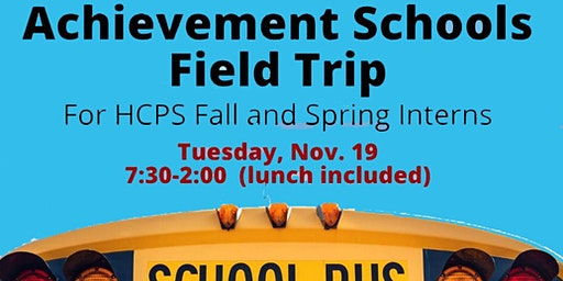 HCPS Achievement School Field Trip