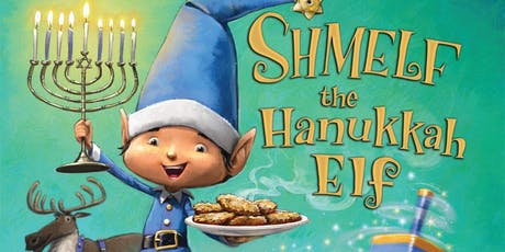 """Free Storytime: """"Shmelf the Hanukkah Elf"""" with author Greg Wolfe tickets"""