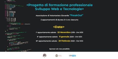 Sviluppo Web & Tecnologie - Formazione Professionale biglietti