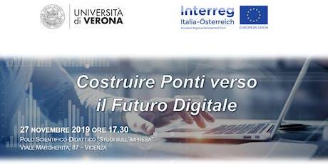 Costruire Ponti Verso il Futuro Digitale biglietti