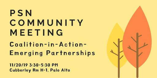 Coalition-in-Action -- Emerging Partnerships