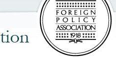 Foreign Policy Association - Topic, Nuclear Negotiations