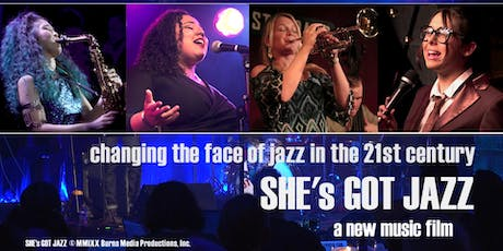 SHE'S GOT JAZZ Screening with LIA BOOTH Performing Live! tickets