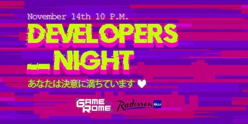 Gamerome Developers Night