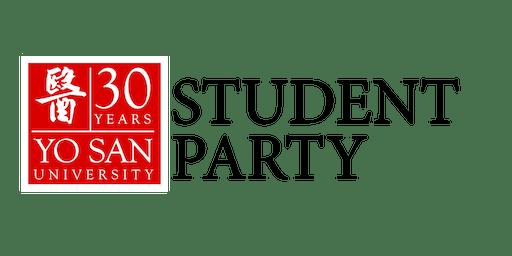 YSU 30th Anniversary Student Party