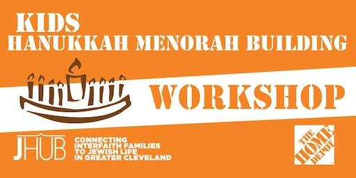 Hanukkah Menorah Building Workshop- Session 2