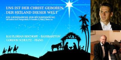Weihnachtsliederabend Kai Florian Bischoff / Gordon Schultz