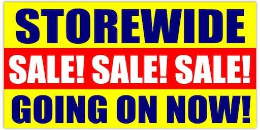 Our Biggest Blow Out High End Designer Furniture Sale!